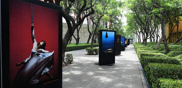 Exposición fotográfica muestra el prodigio del arte circense aéreo