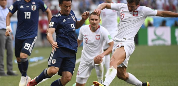 Japón pierde con Polonia pero avanzó