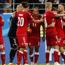 Dinamarca le pega a Perú 1-0