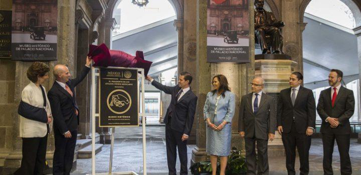 Inauguran el Museo Histórico de Palacio Nacional
