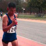 Marchista chimalhuacano se prepara para competir en los Juegos Centroamericanos 2018