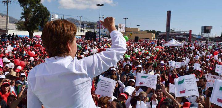 Ixtapaluca no equivocará la fuerza de su voto; Maricela arriba en preferencia
