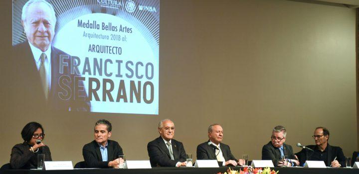 Francisco Serrano recibe la Medalla Bellas Artes de Arquitectura 2018