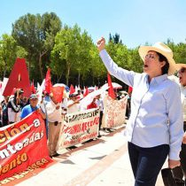 En Pachuca, Yolanda Tellería violenta los derechos de la población