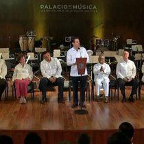 Encabeza Enrique Peña Nieto la inauguración del Palacio de la Música Mexicana
