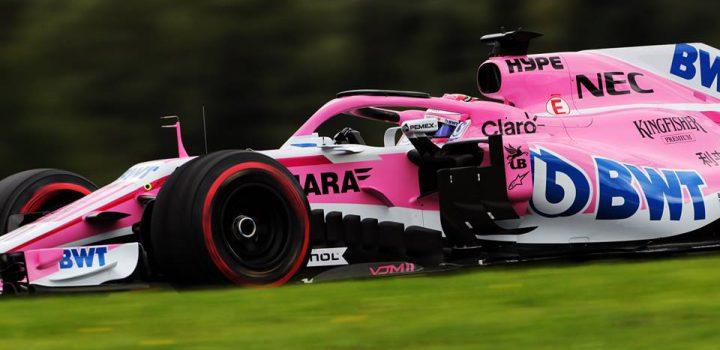 Checo Pérez encara Silverstone con renovados bríos