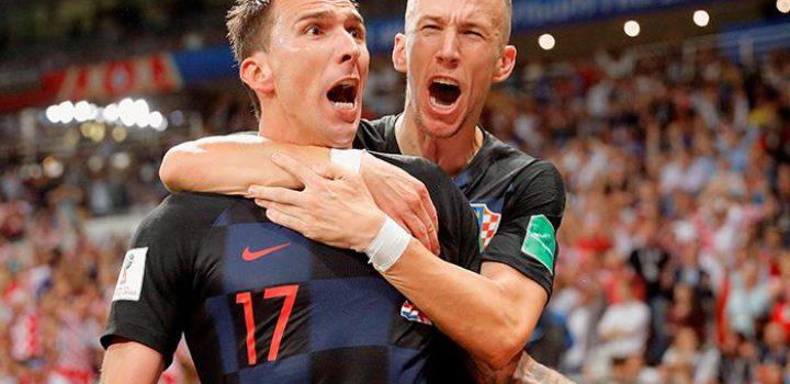 Croatas incrédulos tras haber llegado a la final en Rusia 2018