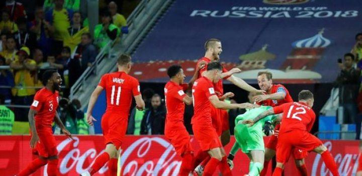 ¡Inglaterra eliminó a Colombia!