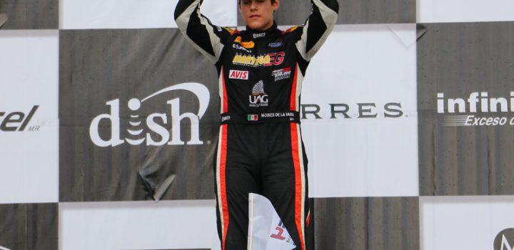 Moisés de la Vara Campeón de FIA F4 Nacam 2018
