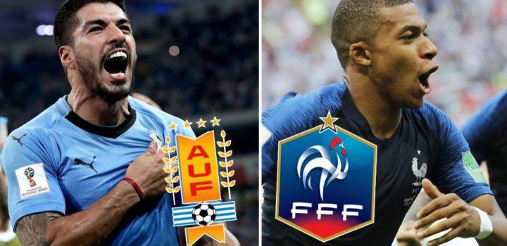 Francia vs Uruguay y Brasil vs Bélgica; ¡Habrá semifinalistas!