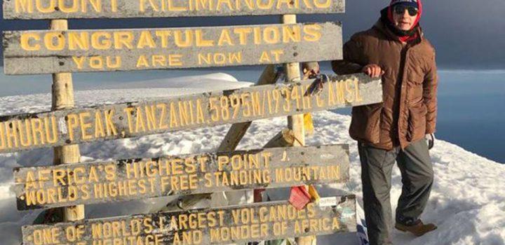 Lorenzo Da Firenze, conquistó cima del Kilimanjaro