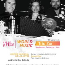 Llega al Cenart el Ciclo Música del Mundo