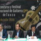 Festival de Guitarra de Taxco celebra su vigésima primera edición