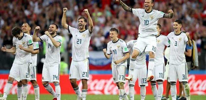 Avanza Rusia a cuartos de final