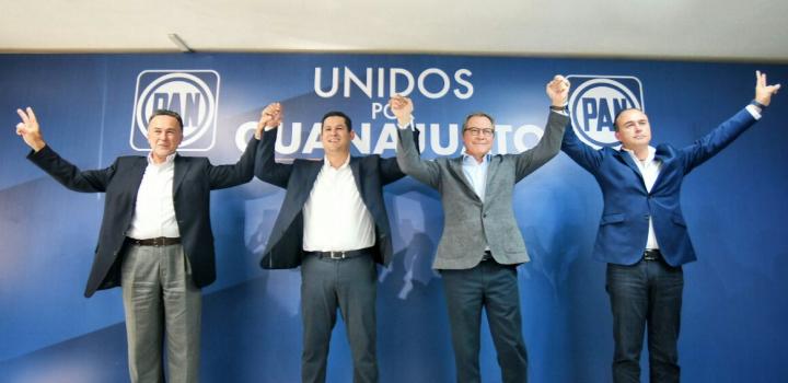 Diego Sinhué, virtual gobernador del estado de Guanajuato