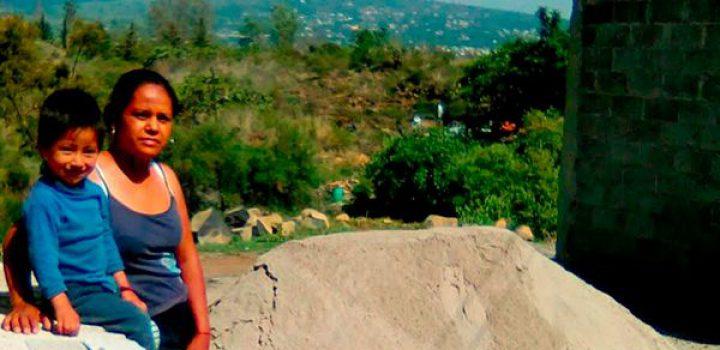 Familias de Milpa Alta beneficiadas con materiales para mejoramiento de vivienda