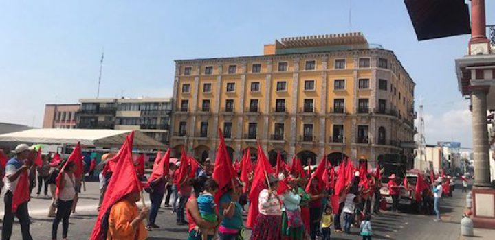 En riesgo cosechas de campesinos; volverán a manifestarse en Palacio de Gobierno