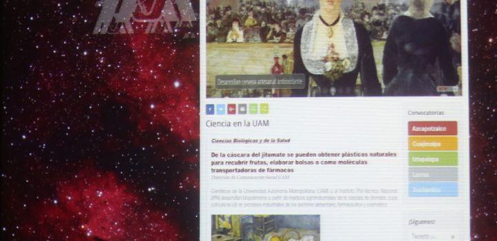 Presentan especialistas la revista electrónica la ciencia en la UAM