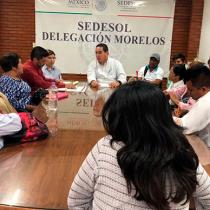 SEDESOL y SEDATU comprometen liberar más de 3 millones para beneficiar a más de 500 familias