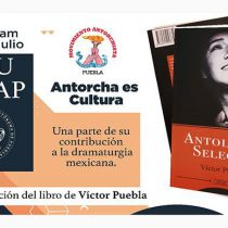 Presentarán libro de Víctor Puebla