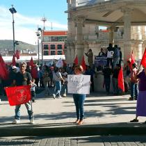 Con evento cultural, exigen a Yolanda Tellería atención a sus gobernados