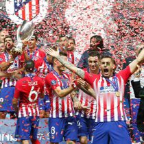 Se venga súper Atlético del Real Madrid