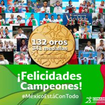 México, ganador indiscutible en Barranquilla 2018