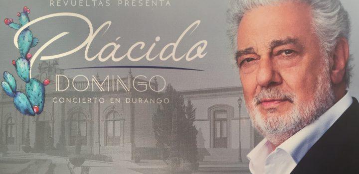 El tenor Plácido Domingo participará en el Festival Cultural Revueltas 2018