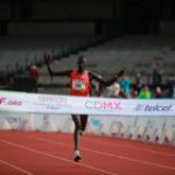 Récord histórico del Tikus Eriku de Kenia en XXXVI Maratón CDMX