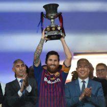 Con 33 títulos, Lionel Messi, ganador histórico de Barcelona