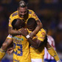 Despierta Tigres y golea 5-1 a San Luis