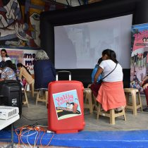 La Valija Cultural. Diego y Frida ofreció a los habitantes de Tepito un acercamiento a la vida y obra de estos iconos del arte