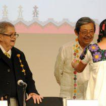 Natalio Hernández ha contribuido a enriquecer el ser de México: Miguel León Portilla