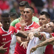 Diablos y Chivas 2-2 en candente partido en el infierno
