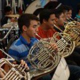 Jóvenes de la OSIM se preparan en campamento para emprender gira nacional