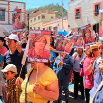 100 días en plantón: Yolanda Tellería miente y no cumple