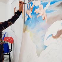 Estudiantes capitalinos se preparan para el XIV Nacional de Pintura