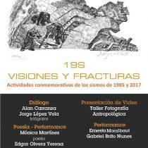 Unen propuestas artísticas para conmemorar los sismos de 1985 y 2017