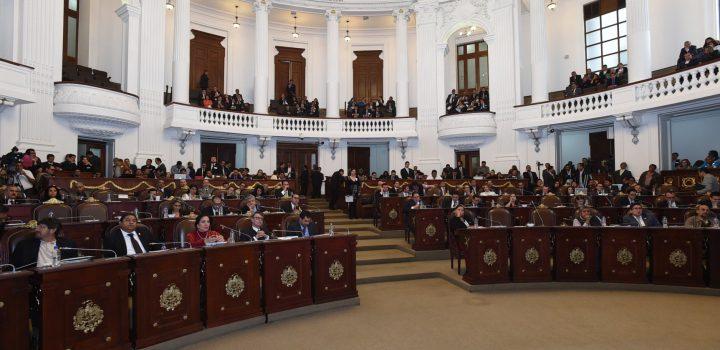 Legisladores le dan el adiós a ALDF
