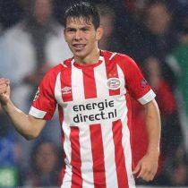"""""""Chucky"""" Lozano anota en victoria del PSV en """"clásico holandés"""""""