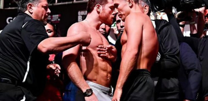"""""""Canelo"""" vs Golovkin, se juegan supremacía en boxeo mundial"""