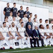 Real Madrid se tomó foto oficial 2018-2019