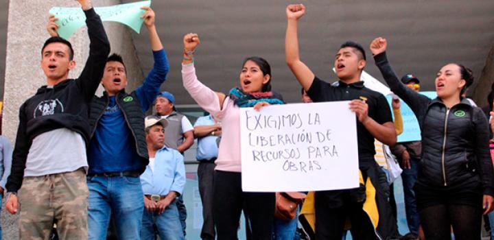 Solicitan aplicación de recurso federal a demandas educativas