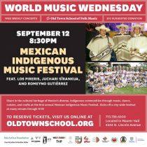 Chihuahua, estado invitado del Primer Festival de Música Indígena de México en Chicago