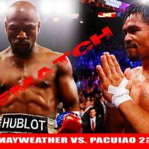 Floyd Mayweather Jr. y Manny Pacquiao, por la revancha
