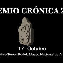 Entregarán el Premio Crónica 2018