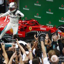 Hamilton se llevó el GP de Brasil