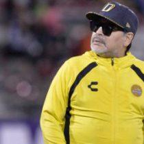 Maradona, multado por críticas al arbitraje