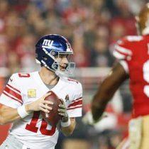 Lanzó Manning 3 TD en triunfo sobre 49ers