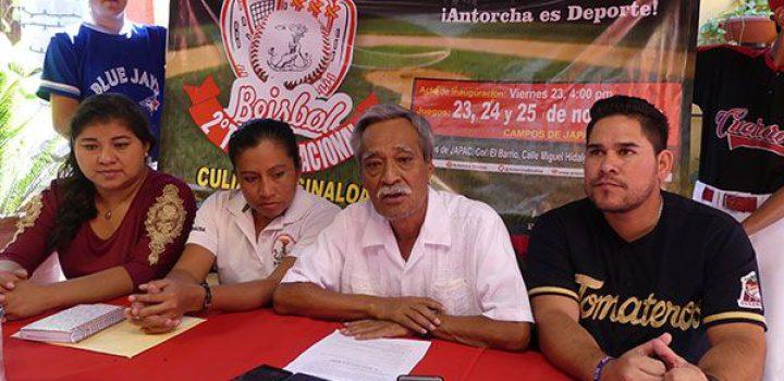 Culiacán, sede del II Torneo Nacional de Beisbol